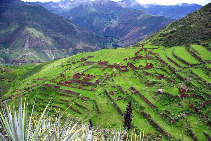 Huchuy Cusco - Stadt nahe Machu Picchu
