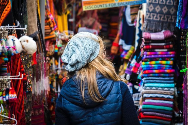 Markt von Pisac - der Sonntagsmarkt